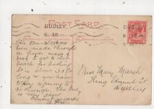 Miss Mary Marsh King Edmund Street Dudley 1920 695a