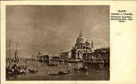 """Künstlerkarte Kunstverlag Wolfrum ~1910 Maler GUARDI """"Ansicht von Venedig"""" Italy"""