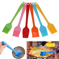 Silicone Basting Pastry Oil Brushes For Cake Bread Butter Baking Tools BBQ BNWUS