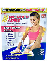 Wonder Arms Total Workout System Resistance Training Shape Tighten And Tone!