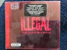 Illegal THE UNTOLD TRUTH CD 1983 Rowdy 37002 HYPE STICKER DJ COPY