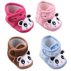 Newborn Baby Infant Warm Anti-slip Cute Panda Shoes Soft Sole Slippers 0-12M