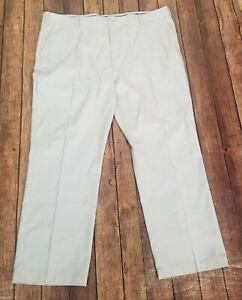 "BCG Golf Pants Mens Size 42x30 Gray Flat Front 34"" Waist"