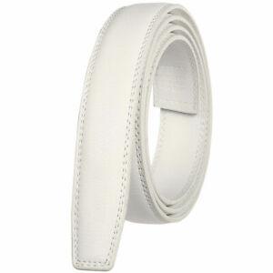3.0cm Business Men's Automatic Buckle Belt Multicolor Leather Ratchet Strap Gift