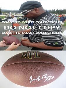 Jacob Green Seattle Seahawks Texas A&M signed autographed NFL football COA proof