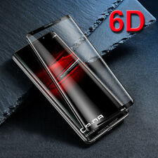 6D Full Cover Tempered Glass Protector For Sony Xperia XA2 Ultra XZ1 Compact
