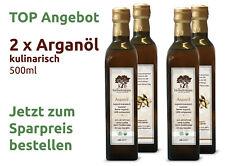 Arganöl kaltgepresst geröstet  Premium Qualität 1L.
