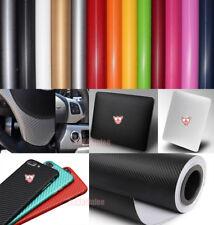 "12"" x 50"" - DIY 3D Texture Carbon Fiber Vinyl Wrap Sticker Film for Car Phone CF"