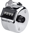 Smellalon Metal Budget Hand Tally Counter Hand Pitch Lap Counter Mechanical Palm
