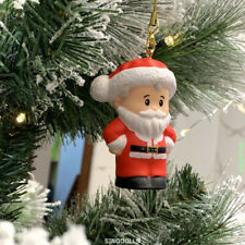 Christmas Holiday Ornament Tree DECO Fisher-Price SANTA CLAUS Figures Toys Gift