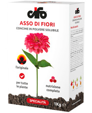 -NEW- ASSO DI FIORI Cifo Concime in Polvere Solubile NPK 20.20.20 1Kg.