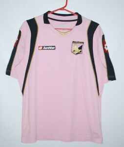 PALERMO FC 2008 2009 HOME FOOTBALL SHIRT SOCCER JERSEY LOTTO SIZE M