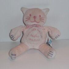 Doudou Chat Sucre d'Orge -  Un petit bonheur de plus sur terre