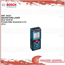 BOSCH MISURATORE LASER GLM 40 PROFESSIONAL MISURA DISTANZA AREA VOLUME ART.94251