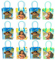 Disney Moana Maui Gift Bags Party Favor Treat Goody Candy Loot Birthday Bags