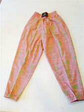 """VINTAGE 80s * 90s """"Dare to Wear"""" Baggy Pink Blue Green ADULT X-SMALL JR LRG"""