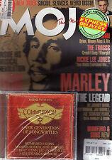 BOB MARLEY - MOJO #212 - UK MUSIC MAG+CD - NEW ORDER - PAUL SIMON - TROGGS