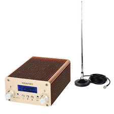 Hot 5W/15W PLL FM Transmitter Radio Station Wireless Broadcast +TNC Antenna us