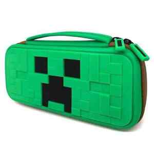 Nintendo Switch Minecraft Style Shockproof Protector Carrying Case Portable Bag