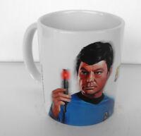 Star Trek Star Fleet Enterprise Ceramic MUG Doctor Leonard McCoy MINT 2016