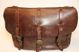 Colonel Littleton USA Made Lynnville Saddlebag Leather Briefcase Messenger Bag