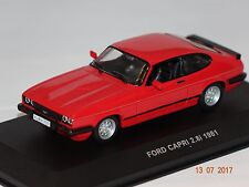 Ford Capri 2,8i 1981 rot 1:43 Solido 143629 neu & OVP