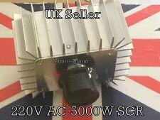 220v AC 5000w SCR Regolatore di tensione lampada di controllo della velocità Motore Termostato Dimmer