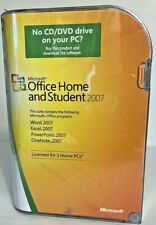 Microsoft Office Home & Student 2007 Product Key Word Excel PowerPoint