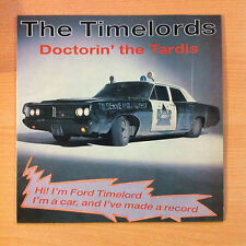 "THE TIMELORDS  "" Doctorin' The Tardis "" - Vinyl maxi 12"" - SPX 106 - 1988 Spain"
