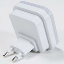 Auto LED Light Induction Sensor Control Bedside Night Light Wall Lamp US/EU