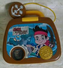 Toy Learning Laptop Vtech Disney Jake and The Neverland Pirates w/ Batteries