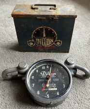 Dillon Dynamometer 10,000 Cap 100 Pound Divisions With Case