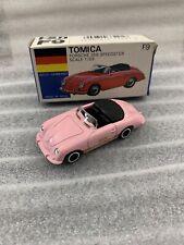 TOMICA F9 Porsche 356 Speedster Super Rare Pink MIB Tomy Japan Diecast