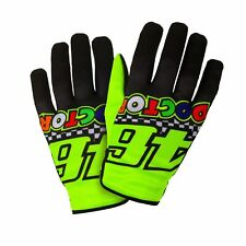 Valentino Rossi VR46 46 Classic The Doctor MotoGP Motorcycle Gloves