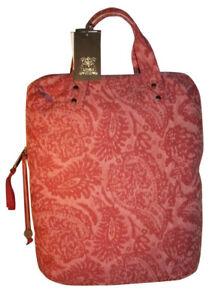 Trussardi Borsa shopping Lino rosa 45 X 35 X 15 cm