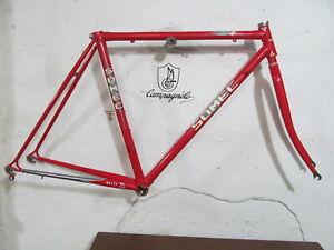 Vintage SOMEC FrameSet Columbus Campagnolo Shimano Used