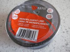 Monofilament Fishing Line 20 pound 270 Yards 246.9 Meters New Sealed South Bend