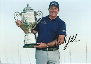 Phil Mickelson Autographed signed photo