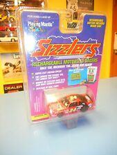 """PLAYING MANTIS SIZZLERS  RECHARGEABLE MOTORIZED RACERS  JURASSIC PARK """"NIP"""""""