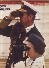 SUNDAY TELEGRAPH MAG. THE QUEEN and her SHIPS 10 JULY 1977 VGC