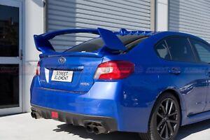S-T Style Rear Trunk Wing Spoiler For 2014-2020 Subaru WRX/STI V1 (WR BLUE K7X)