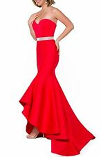 NEW JOVANI Mermaid Gown & Shawl DRESS GOWN Size 0 $468 NORDSTROM RED LATEST