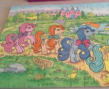 "Vintage My Little Pony ""To Castle"" 100-Piece Puzzle In Box"