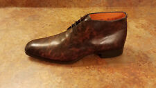 Santoni 'Andale' Chukka Boots Brown Leather Mens Size 9.5 D MSRP $695