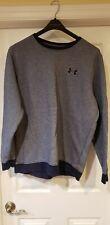 Under Armour Cold Gear Crewneck Sweatshirt Blue/Gray Long Sleeve Size 2Xl/2Tg