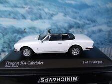 1/43   Minichamps   Peugeot 504 1974  1 of 2640