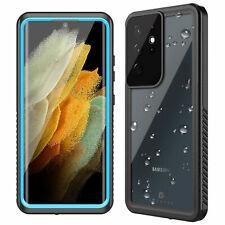Para Samsung Galaxy S21 Ultra S21+ 5G Estuche Impermeable Con Pantalla Plus Protector