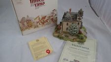 "1991 Lilliput Lane Landmarks ""Victoriana"" House W/ Box & Coa (No. 2399 of 2500)"