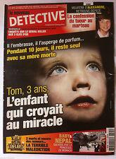 DETECTIVE du 10/05/2013; Pau; Meurtre d'Alexandre/ Sérial Killer de Marseille