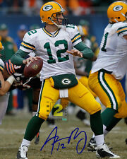 "Aaron Rodgers Signed  American football quarterback 8""x 10"" Color PHOTO! REPRINT"